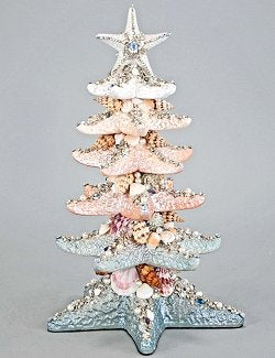 Glitter Fantasy Layered Starfish Tree