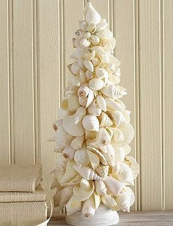 Natural Shell Tabletop Tree