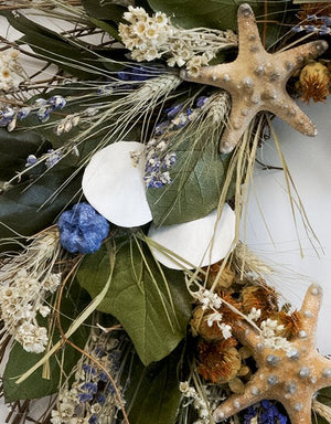 Big Sur Beach Coastal Wreath - Nautical Luxuries