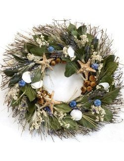 Big Sur Beach Coastal Wreath