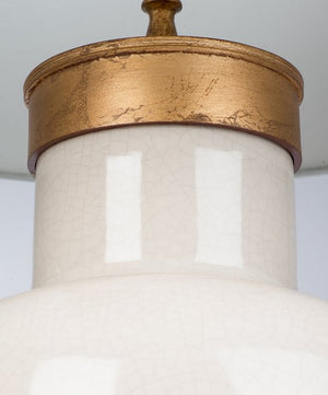Beach Breezy Coastal Table Lamp/Gold - Nautical Luxuries