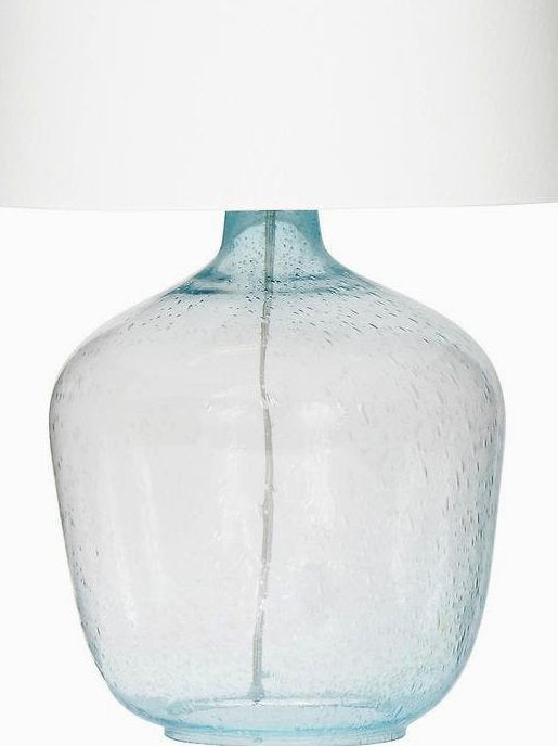 Clearwater Glass Coastal Table Lamp