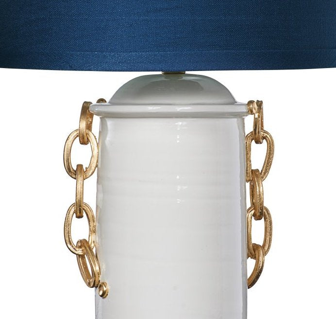 Yacht Club Golden Classic Nautical Table Lamp