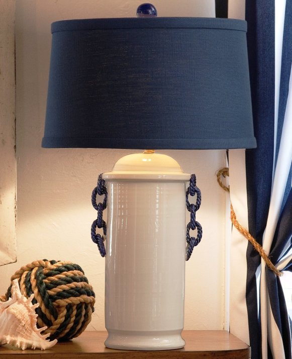Yacht Club Classic Nautical Table Lamp - Nautical Luxuries