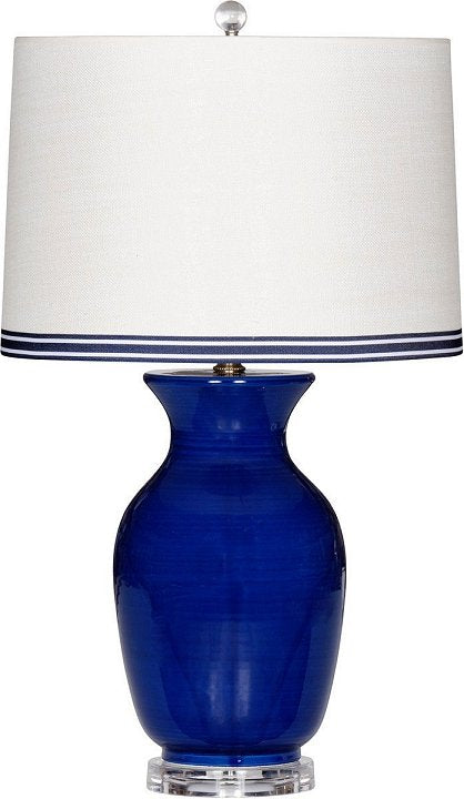 blue beach house lamp