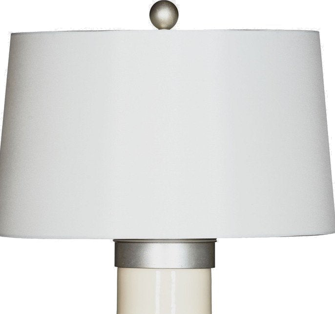 Beach Breezy Coastal Table Lamp/Silver