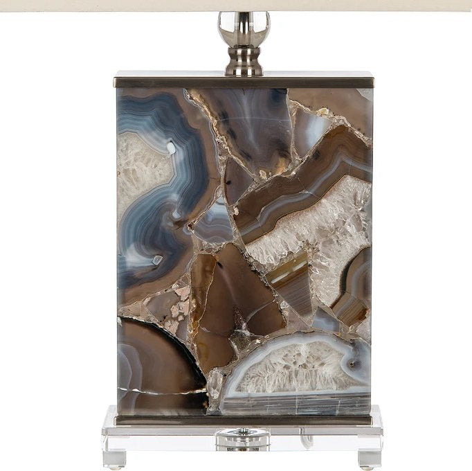 Marine Agate Table Lamp - Nautical Luxuries