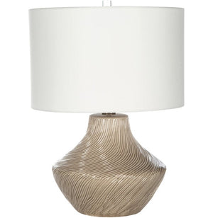Sand Storm Ceramic Table Lamp - Nautical Luxuries