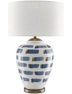 Bungalow Brushstroke Table Lamp - Nautical Luxuries