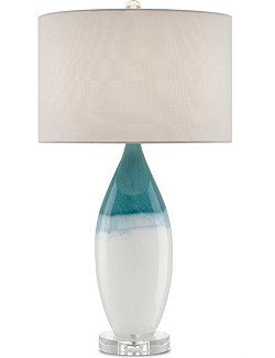 Water's Edge Ceramic Table Lamp - Nautical Luxuries