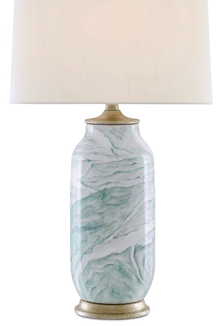 Turbulent Seas Ceramic Table Lamp - Nautical Luxuries