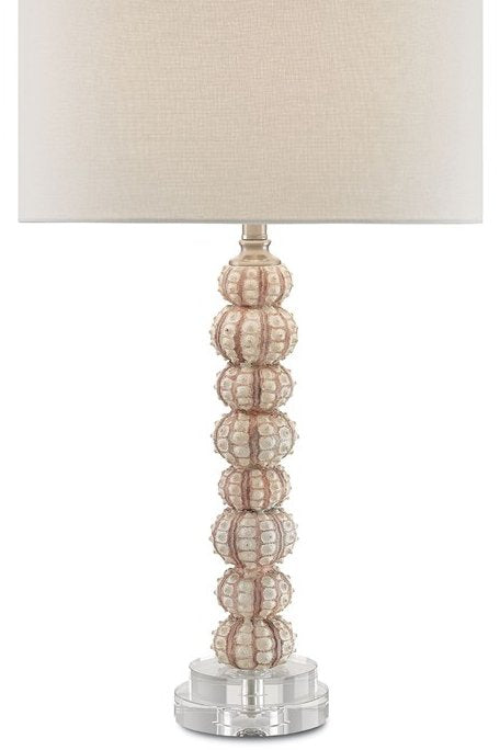 Sea Urchin Stack Table Lamp - Nautical Luxuries