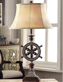 At The Helm Table Lamp - Nautical Luxuries