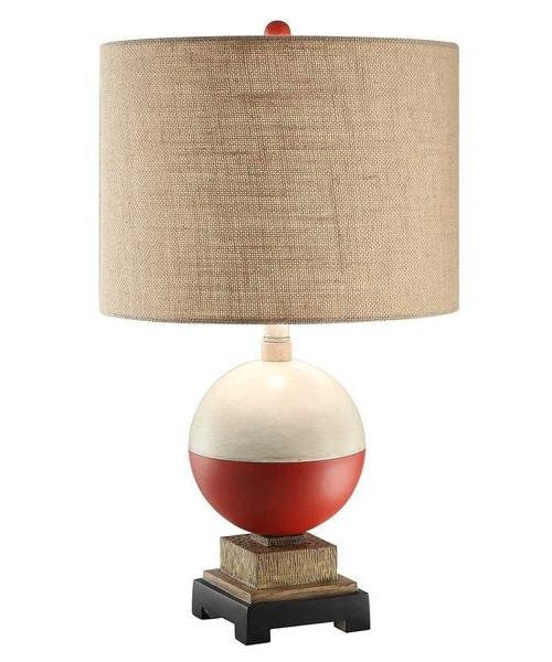 Fisherman's Bobber Base Table Lamp - Nautical Luxuries