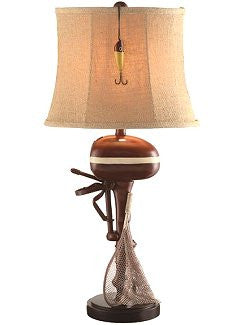 Vintage Outboard Lake House Lamp