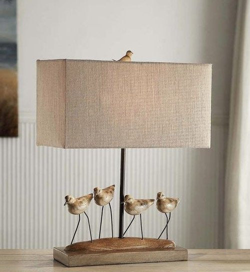 Sandpiper Flock Table Lamp - Nautical Luxuries