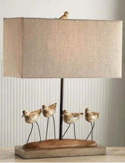 Sandpiper Flock Table Lamp