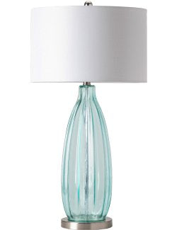 Sea Breezes Glass Table Lamp - Nautical Luxuries
