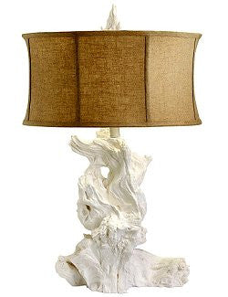 Monterey Bay Bleached Driftwood Lamp