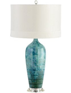Ocean Depths Ceramic Table Lamp - Nautical Luxuries