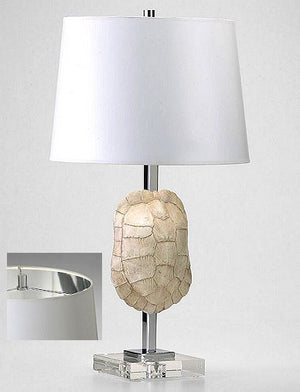 Tortoise Shell Accent Lamp - Nautical Luxuries