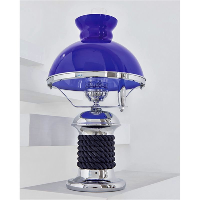 Admiralty Winch Base Table Lamp - Nautical Luxuries
