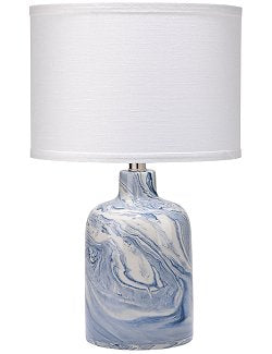 Arctic Currents Ceramic Accent Lamp - Nautical Luxuries