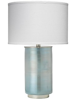 Metallic Sea Mist Table Lamp - Nautical Luxuries