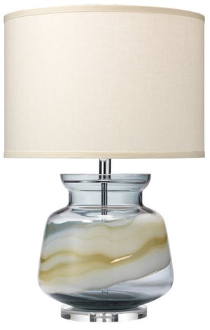 Sandbar Handcrafted Glass Table Lamp - Nautical Luxuries