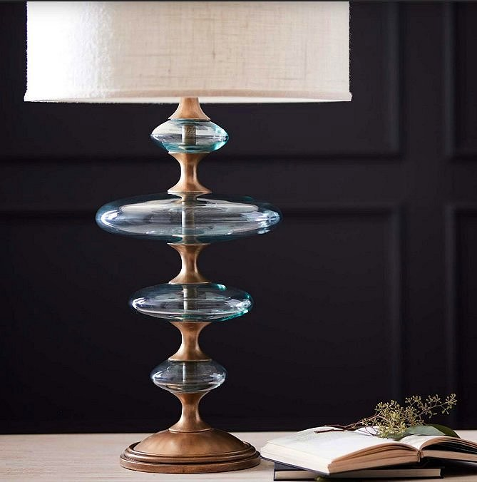 Calypso Seas Glass Lamps - Nautical Luxuries
