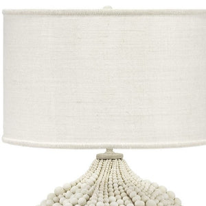 Beach Boho Beaded Table Lamp - Nautical Luxuries