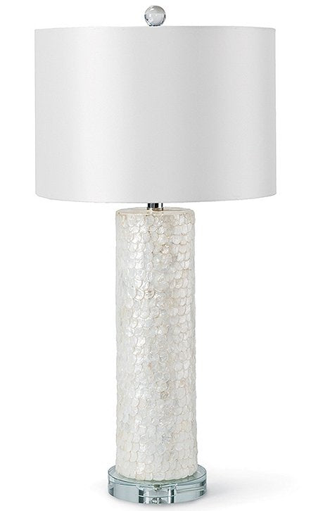 Capiz Shell Beach House Lamp