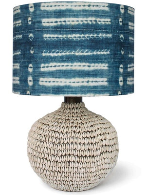 South Pacific Cowrie Shell Table Lamps - Nautical Luxuries