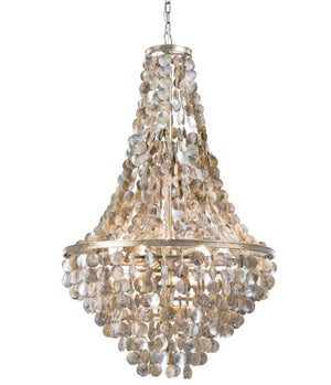 Catalina Abalone Shell Chandelier - Nautical Luxuries