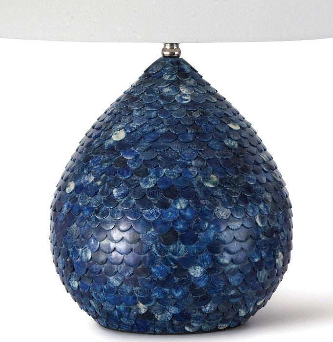 Indigo Siren Table Lamp