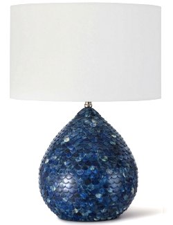 Indigo Siren Table Lamp - Nautical Luxuries