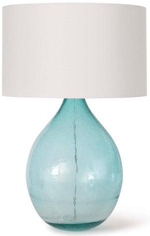 Ocean Mist Sea Glass Table Lamp - Nautical Luxuries