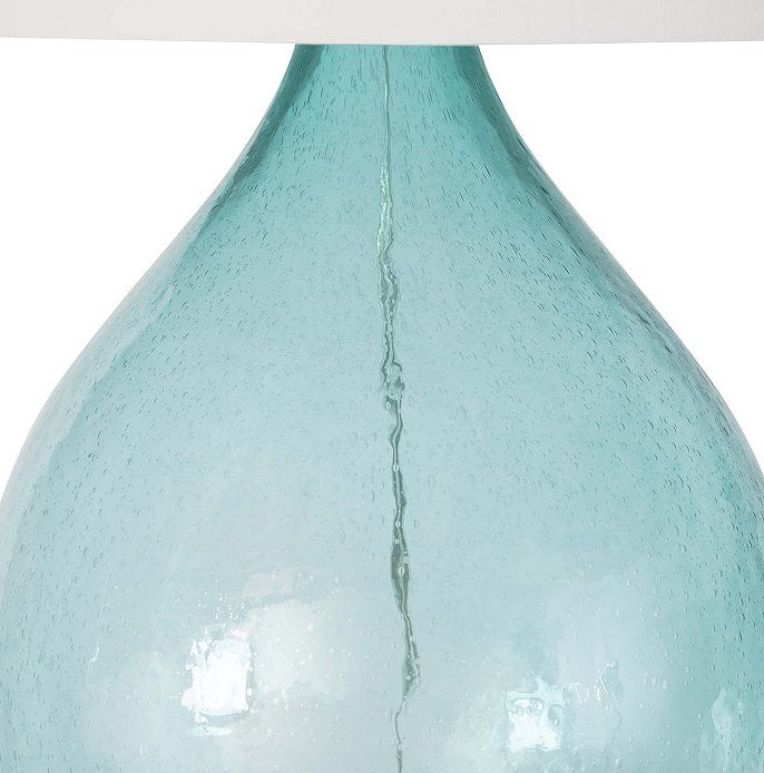 Ocean Mist Sea Glass Table Lamp
