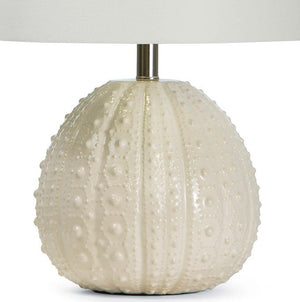Sanibel Sea Urchin Ceramic Accent Lamps - Nautical Luxuries