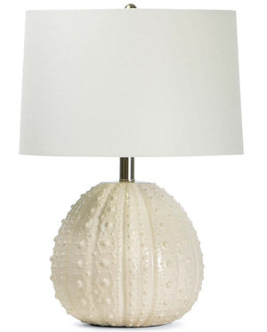 Sanibel Sea Urchin Ceramic Table Lamps - Nautical Luxuries