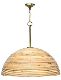 Grande Beach Bamboo Pendant Light - Nautical Luxuries