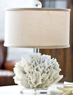 Coral Cluster Petite Accent Lamp - Nautical Luxuries