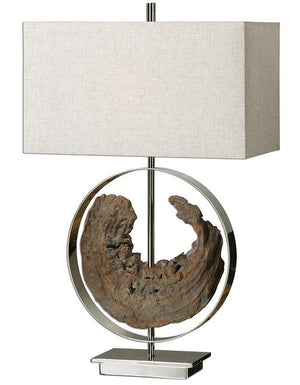 Driftwood Dreamer Table Lamp - Nautical Luxuries