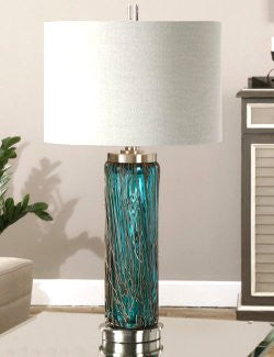 Silver Seas Table Lamp - Nautical Luxuries