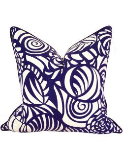 Abstract Shells Outdoor Pillow - Nautical Luxuries