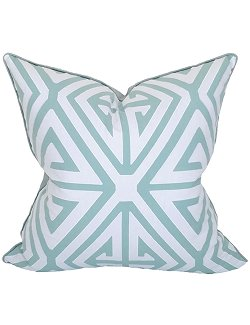 Aqua Maze Coastal Lifestyle Pillow - Nautical Luxuries