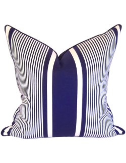 Ralph Lauren Yachting Striped Outdoor Pillow - Nautical Luxuries