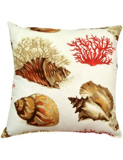 Conch Reef Accent Pillow