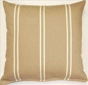 Harbor Stripe Accent Pillows - Nautical Luxuries