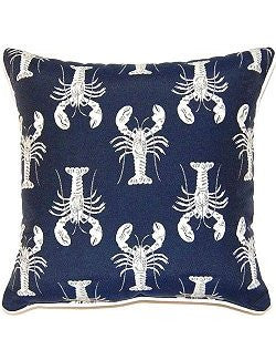 New England Lobster Parade Accent Pillows